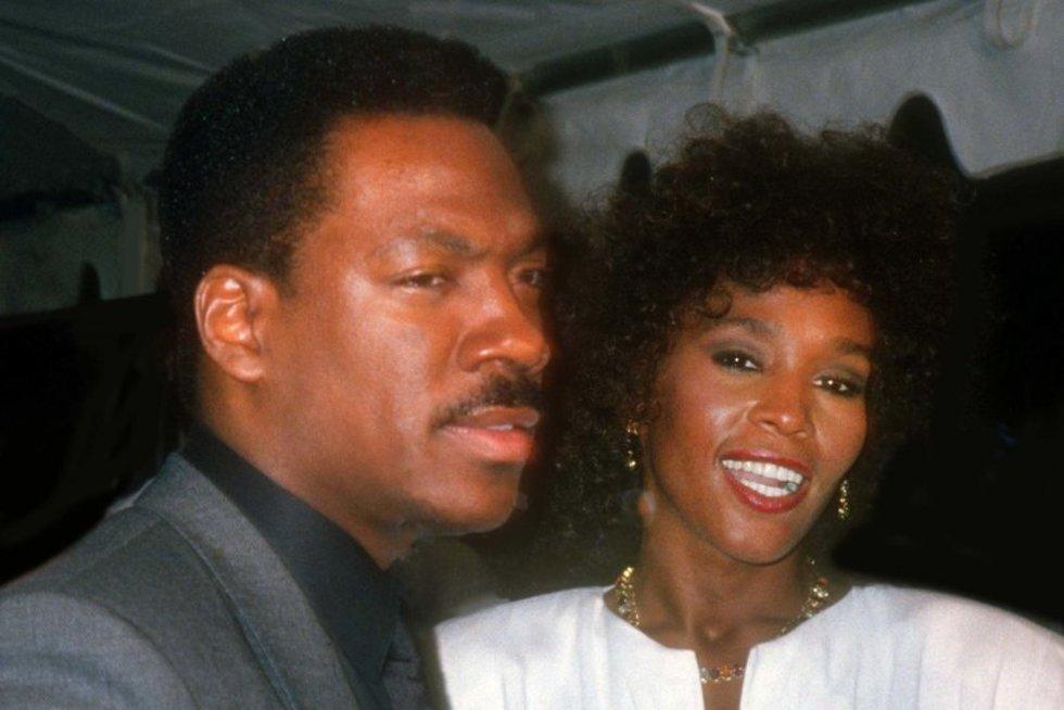 Whitney Houston ir Eddie Murphy (nuotr. Vida Press)