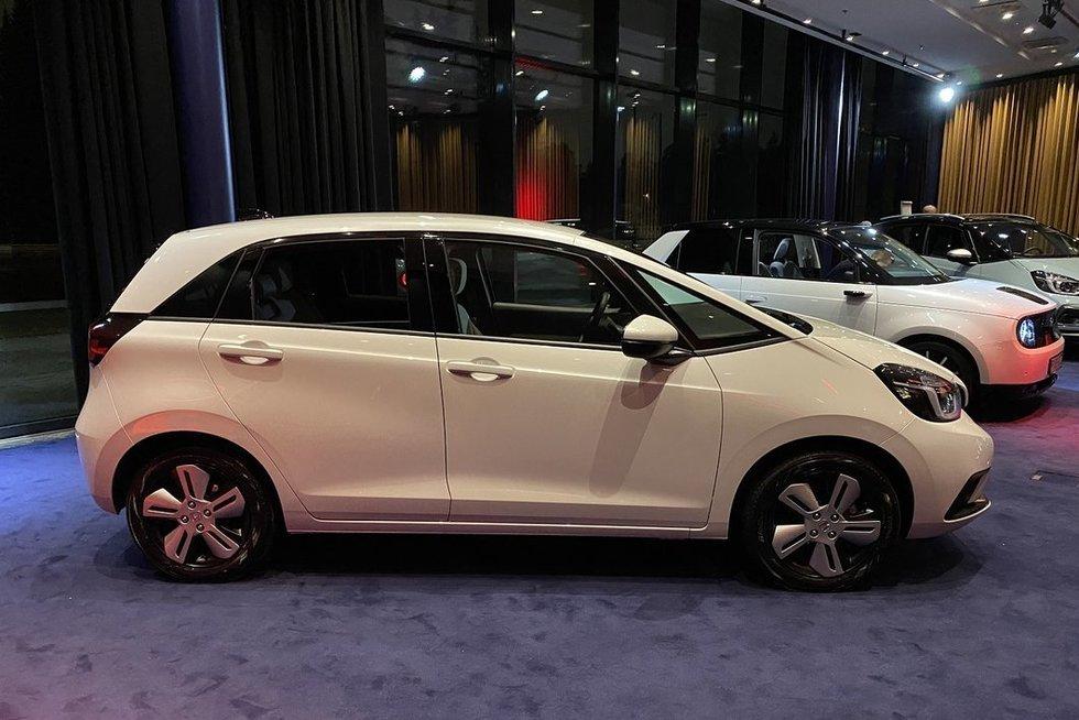 Naujasis Honda Jazz (gamintojo nuotr.)