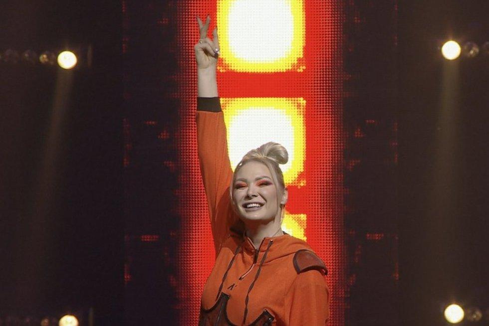 Natalija Bunkė (nuotr. stop kadras)