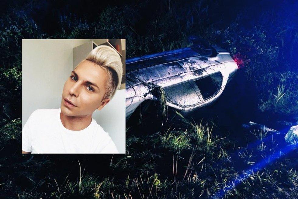 Kenas pateko į avariją (tv3.lt fotomontažas)