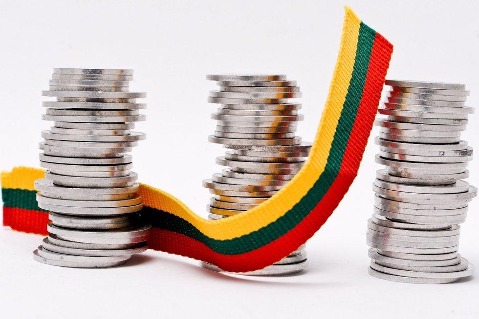 Lietuvių pinigai (nuotr. Fotodiena.lt/Karolio Kavolėlio)