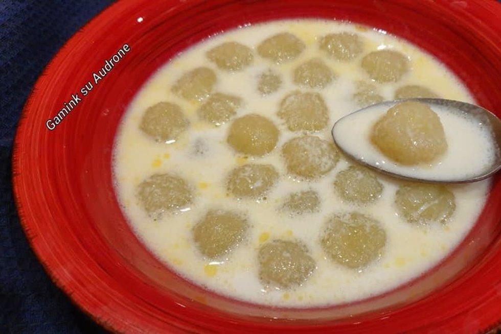 Pieniška kukulių sriuba nukels į vaikystę: Audronės receptas plinta kaip virusas (Gamink su Audrone nuotr.)