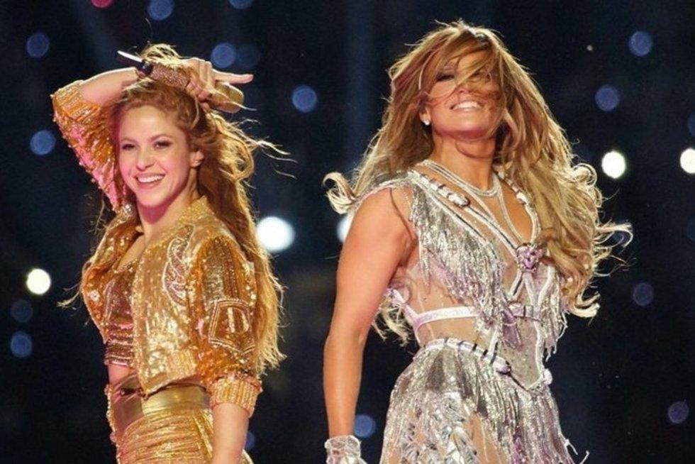 Shakira ir J. Lopez (nuotr. Instagram)