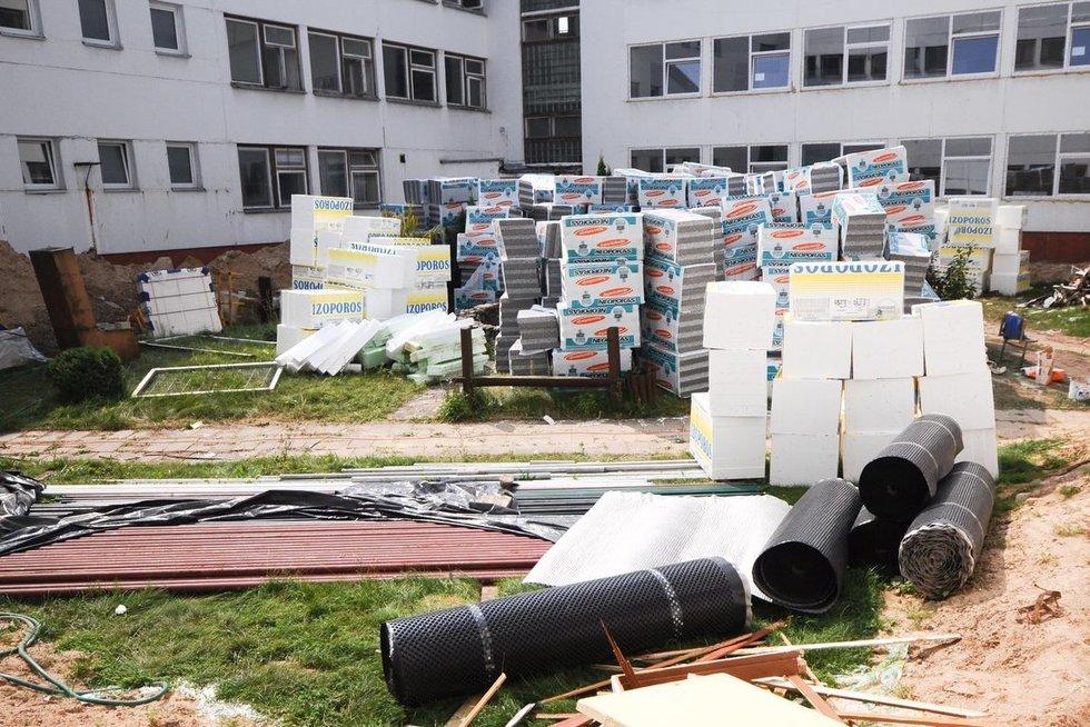 Mokyklos renovacija (nuotr. Fotodiena.lt)