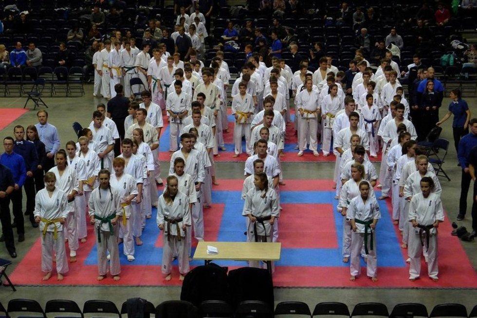 Lietuvos moksleivių kyokushin karate taurės varžybų finalas (nuotr. Organizatorių)