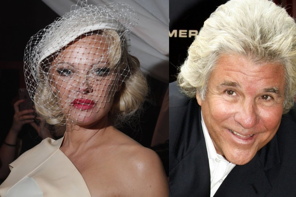 Pamela Anderson ir Jon Peterson (nuotr. SCANPIX)