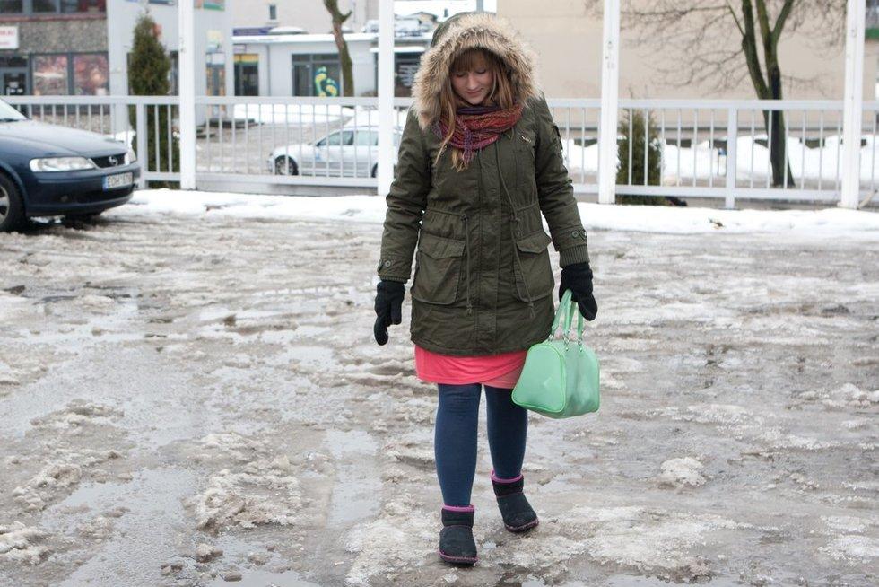 Eismas žiemą