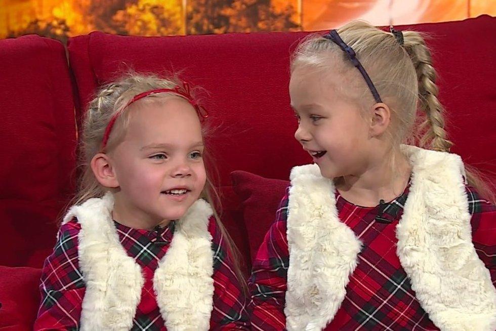 Sesutės Emilija ir Martyna prajuokins iki ašarų: gyrėsi, ką gero nuveikė per metus