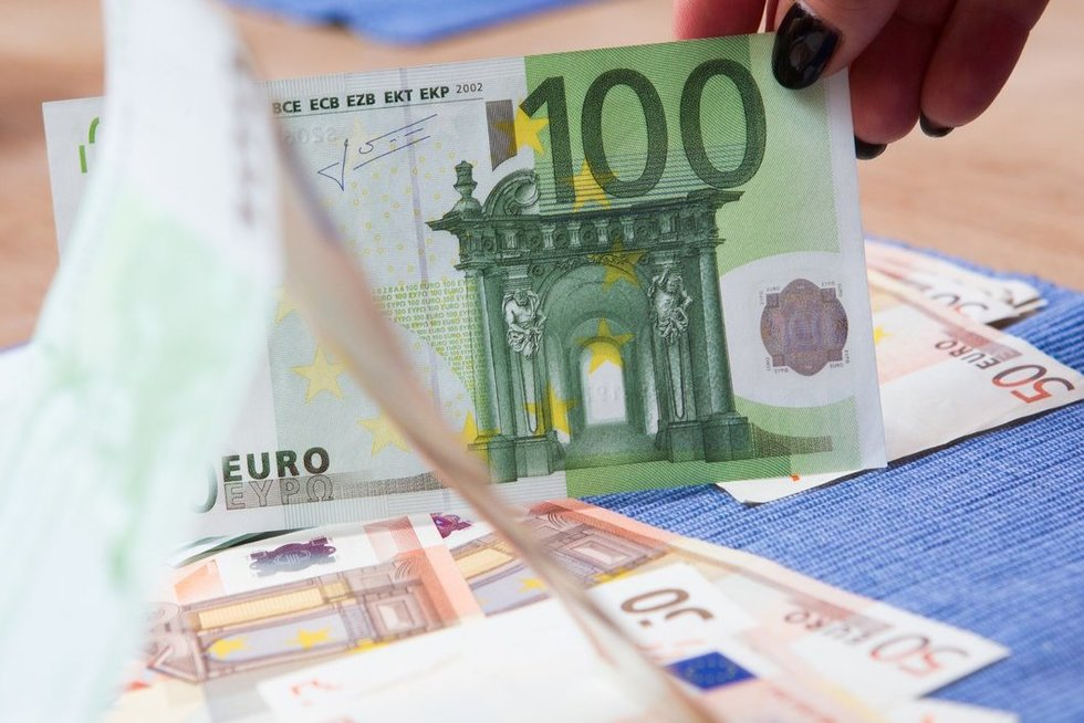 Pinigai, Fotobankas.lt/ Vyginto Skaraičio nuotr.