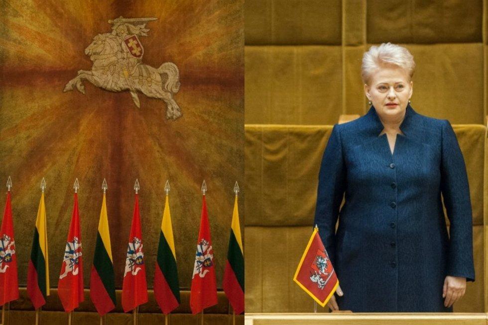D.Grybauskaitė: šitas Seimas turi galimybę padėti pamatą visiškai naujam valstybės raidos etapui (TV3 koliažas) (nuotr. Fotodiena.lt)