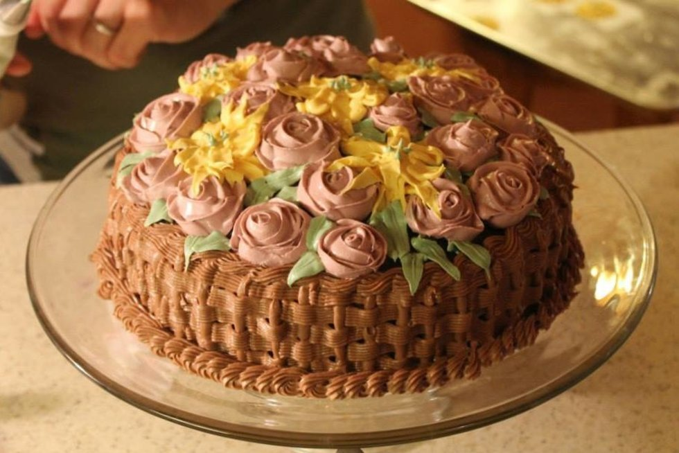 Tortas (nuotr. Katherine Dey Art/Facebook)