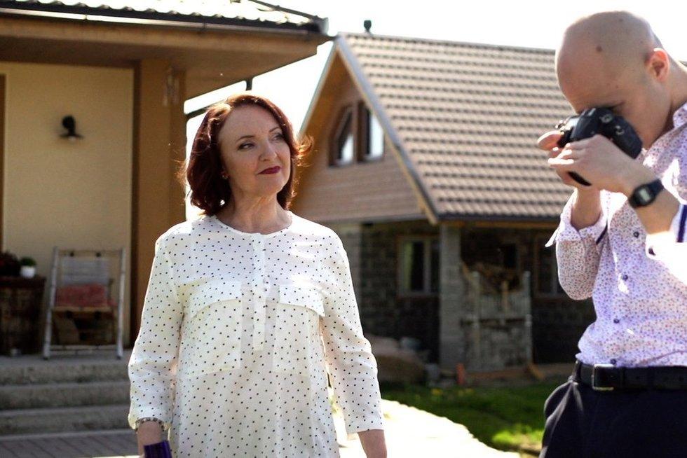 Naujo serialo apie šeimos santykius žvaigždė A. Baukutė: man gyvenime su uošvienėmis nepasisekė