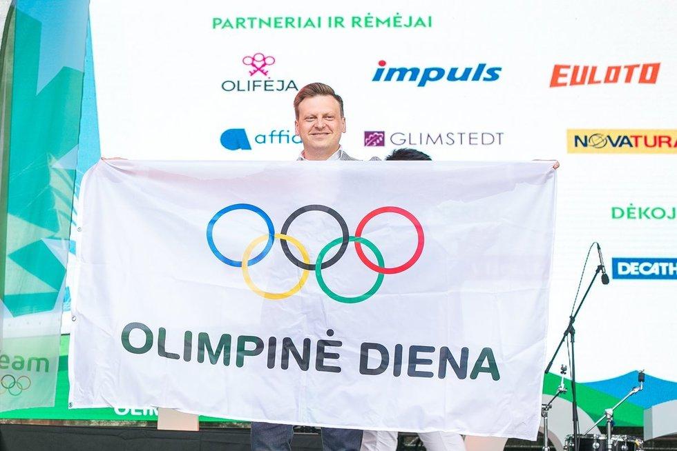 Olimpinė diena (nuotr. Sauliaus Čirbos)