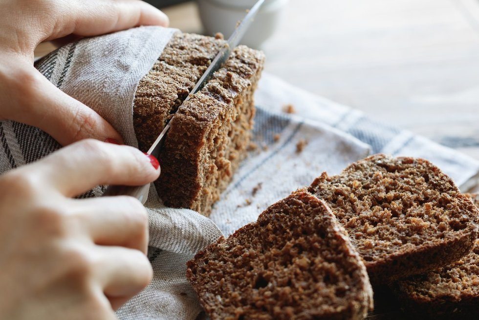 Juoda duona (nuotr. Fotolia.com)