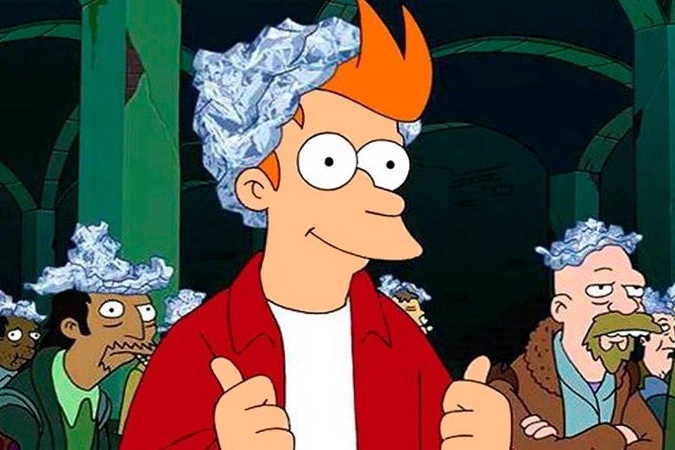 """Kadras iš serialo """"Futurama"""" (nuotr. Gamintojo)"""