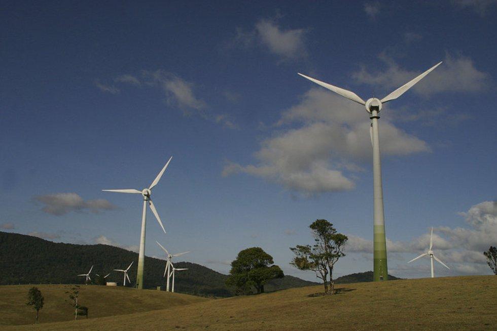 Vėjo energija (nuotr. Alloverpress.ee)