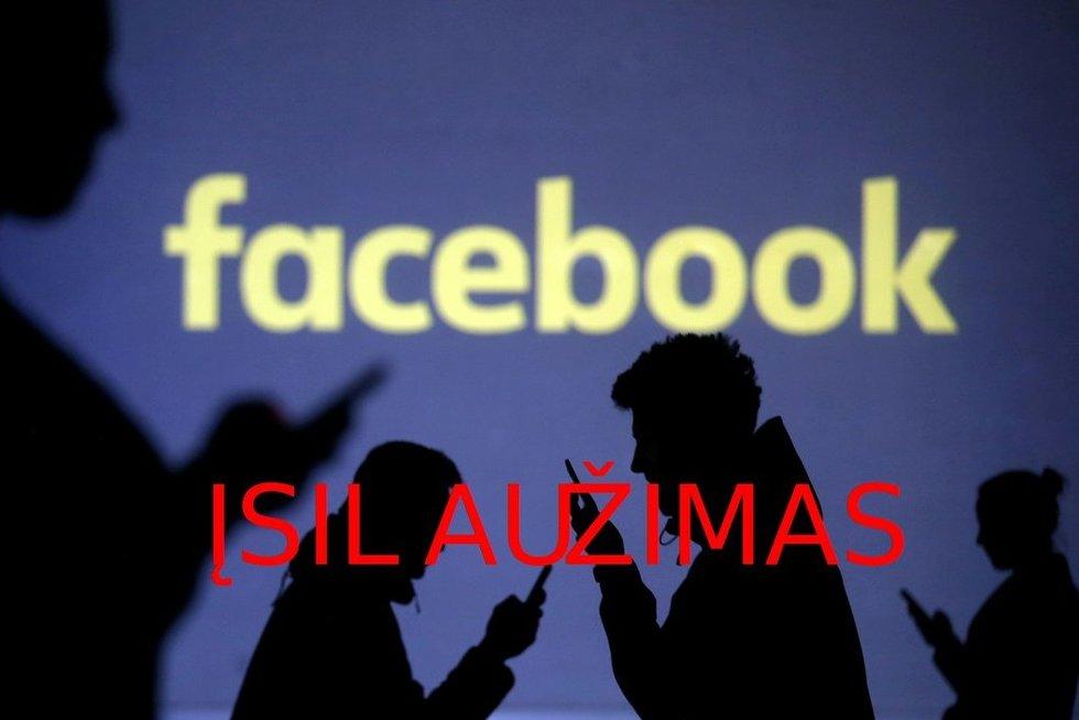 """Facebook"" (nuotr. SCANPIX) tv3.lt fotomontažas"