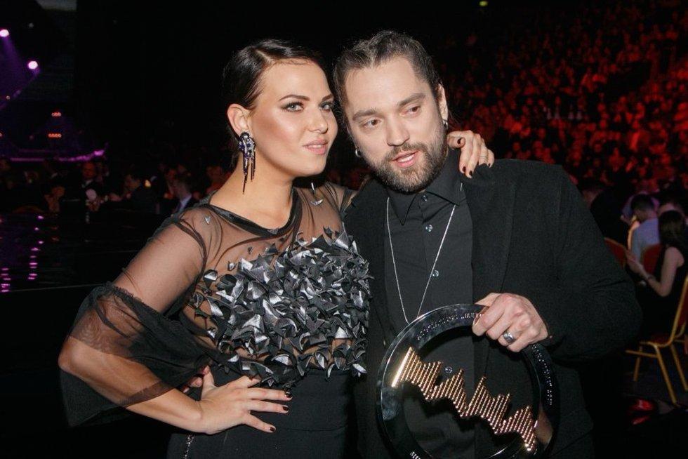 Justė Arlauskaitė-Jazzu ir Leonas Somovas (nuotr. Tv3.lt/Ruslano Kondratjevo)