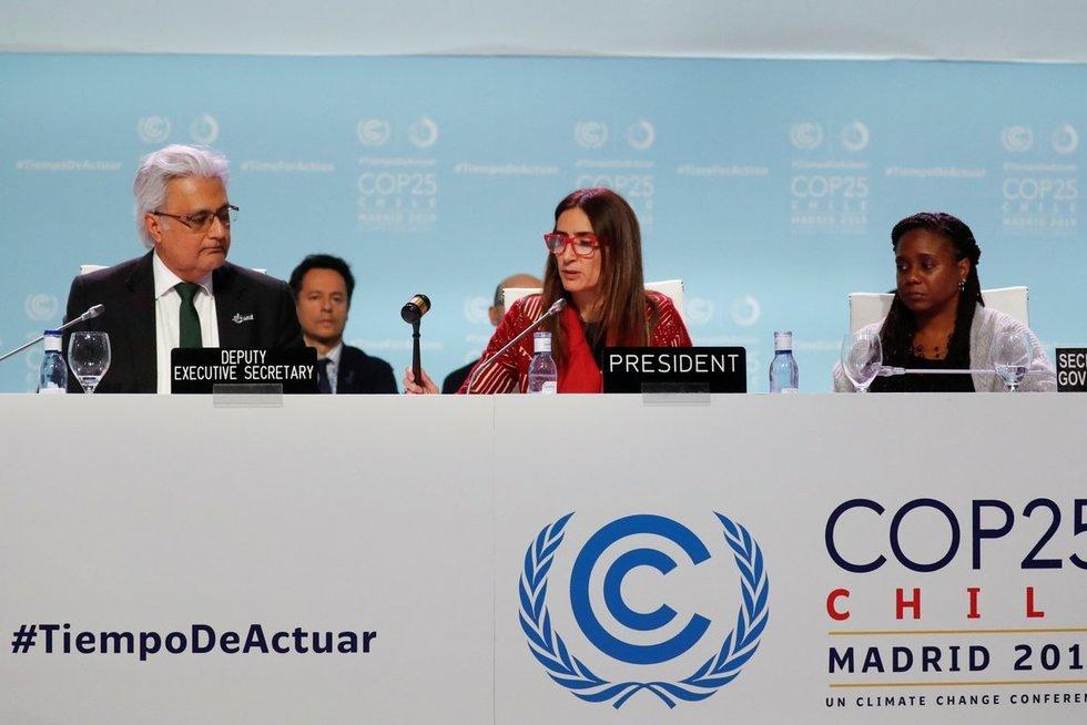 Madride baigėsi susitikimas dėl klimato kaitos (nuotr. SCANPIX)