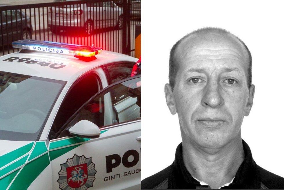 Policija prašo pagalbos: mįslingomis aplinkybėmis dingo vyras (nuotr. Policijos)