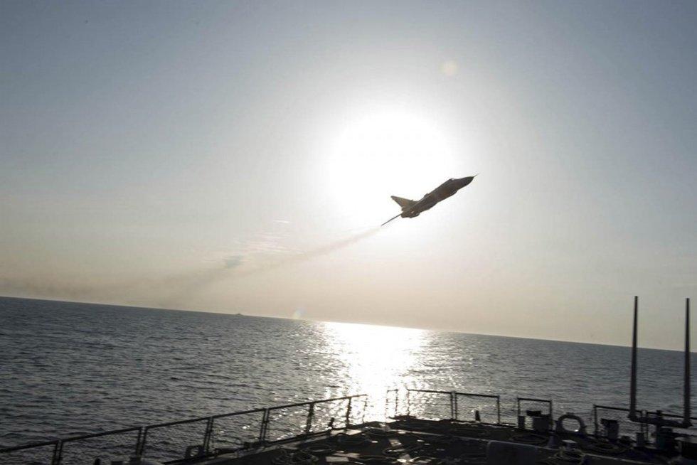 Rusijos naikintuvai Baltijos jūroje (nuotr. SCANPIX)