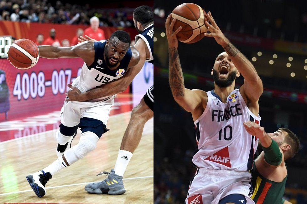 JAV vyrų krepšinio rinktinė (nuotr. SCANPIX)