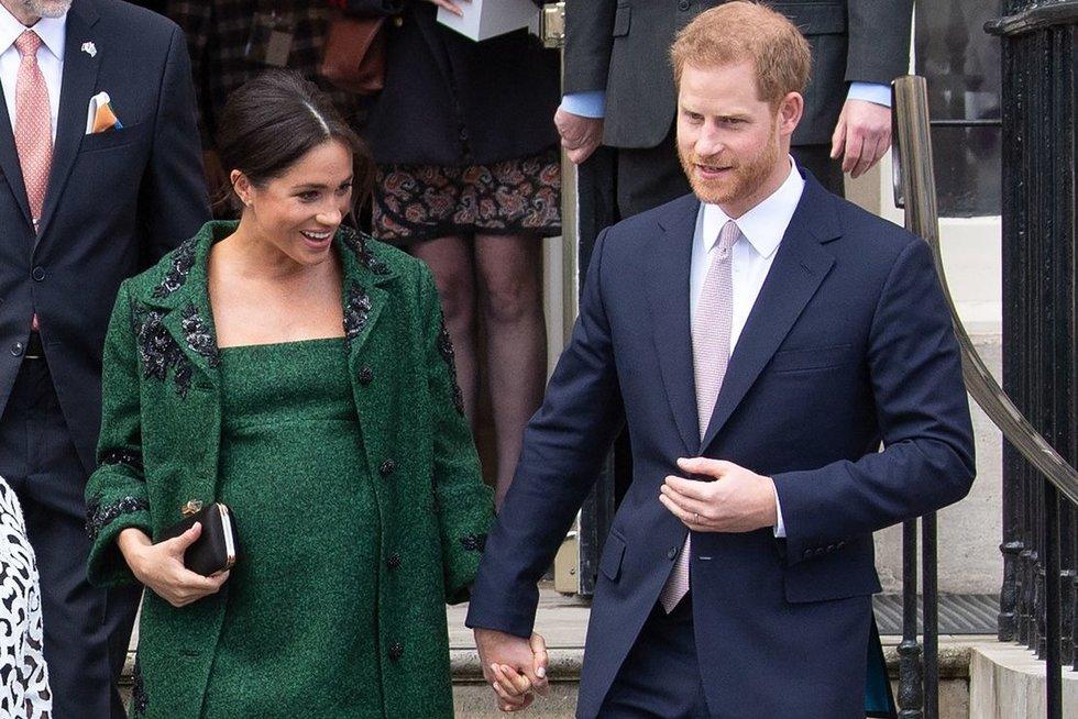 Meghan Markle ir princas Harry (nuotr. SCANPIX)