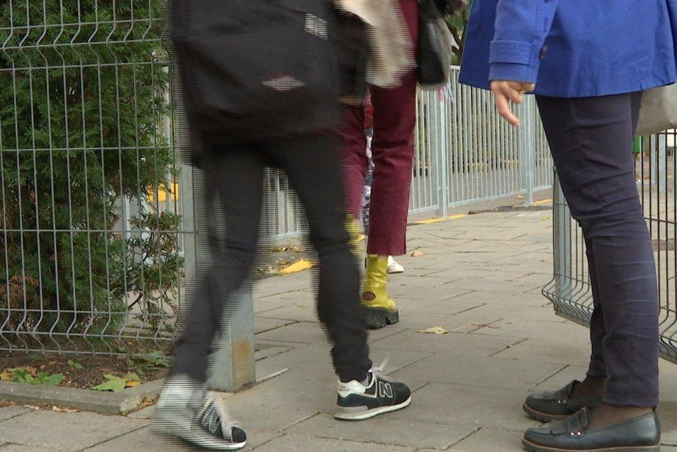 Prestižinėje privačioje Vilniaus mokykloje – utėlės: karaliauja ne pirmus metus (nuotr. stop kadras)
