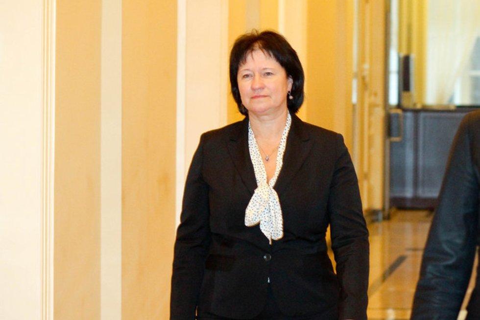 Žemės ūkio ministrė Virginija Baltraitienė (nuotr. Fotodiena.lt/Dmitrijaus Radlinsko)