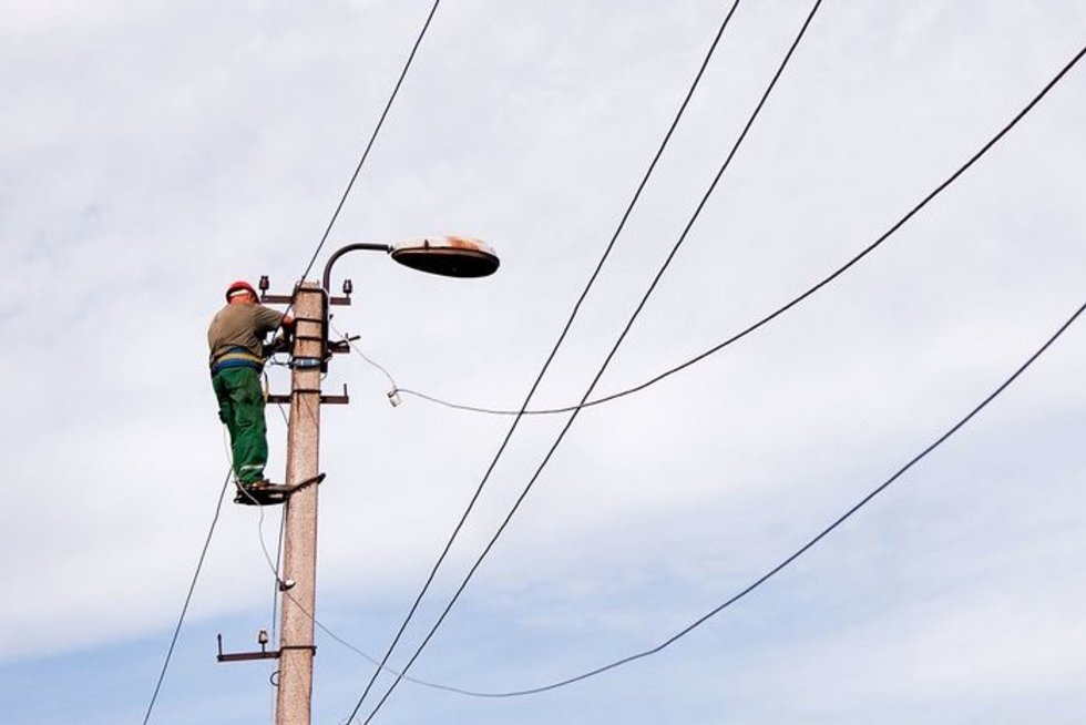 Elektros laidai (nuotr. Fotodiena.lt)