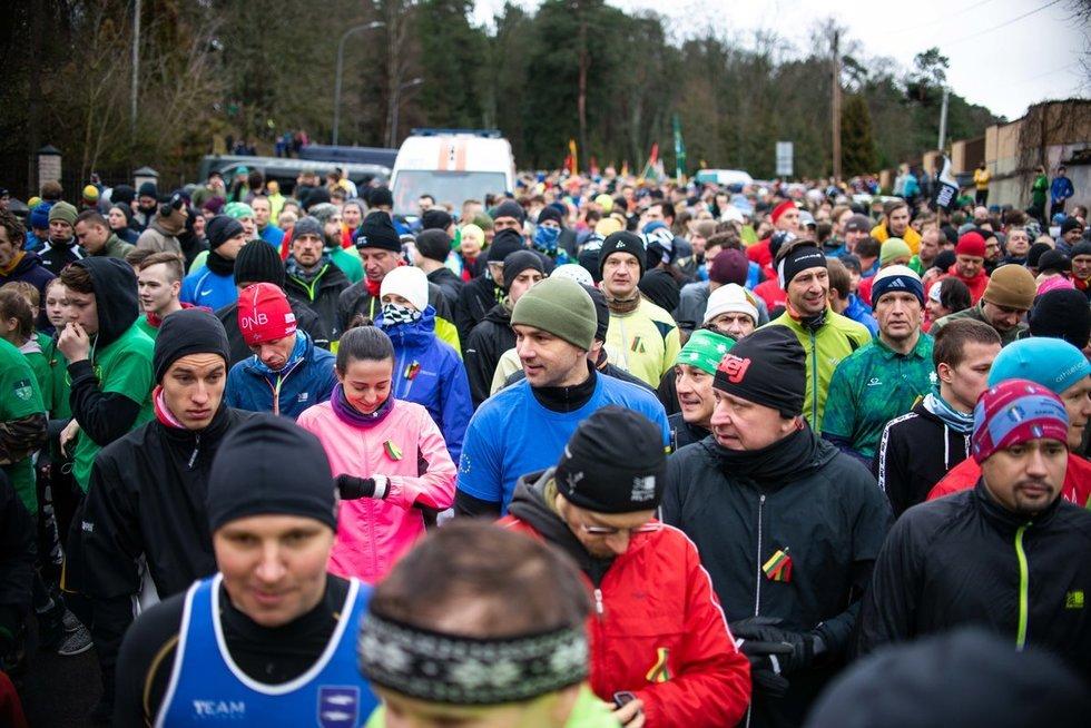 Vilniuje vyko tradicinis bėgimas Sausio 13-osios aukoms pagerbti (nuotr. Fotodiena.lt)
