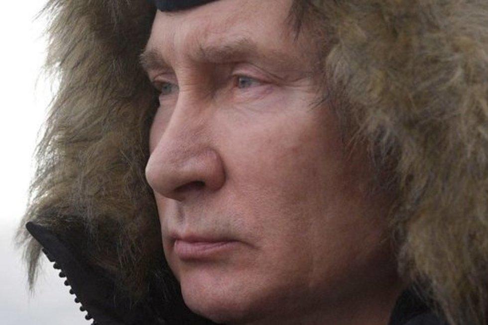 Vladimiras Putinas Kryme (nuotr. Scanpix)
