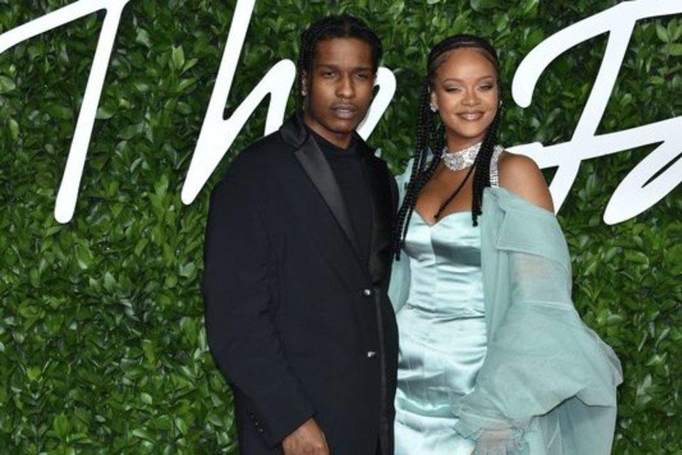 A$AP Rocky ir Rihanna (nuotr. SCANPIX)