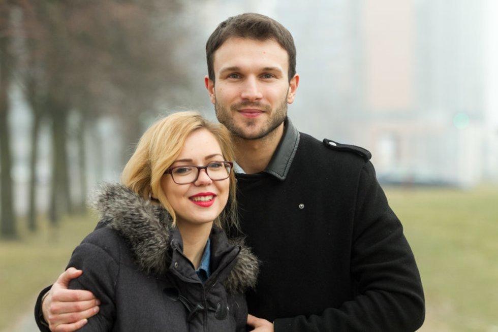 "Monika Linkytė ir Vaidas Baumila (nuotr. ""Balsas.lt"" / Ruslano Kondratjevo)"