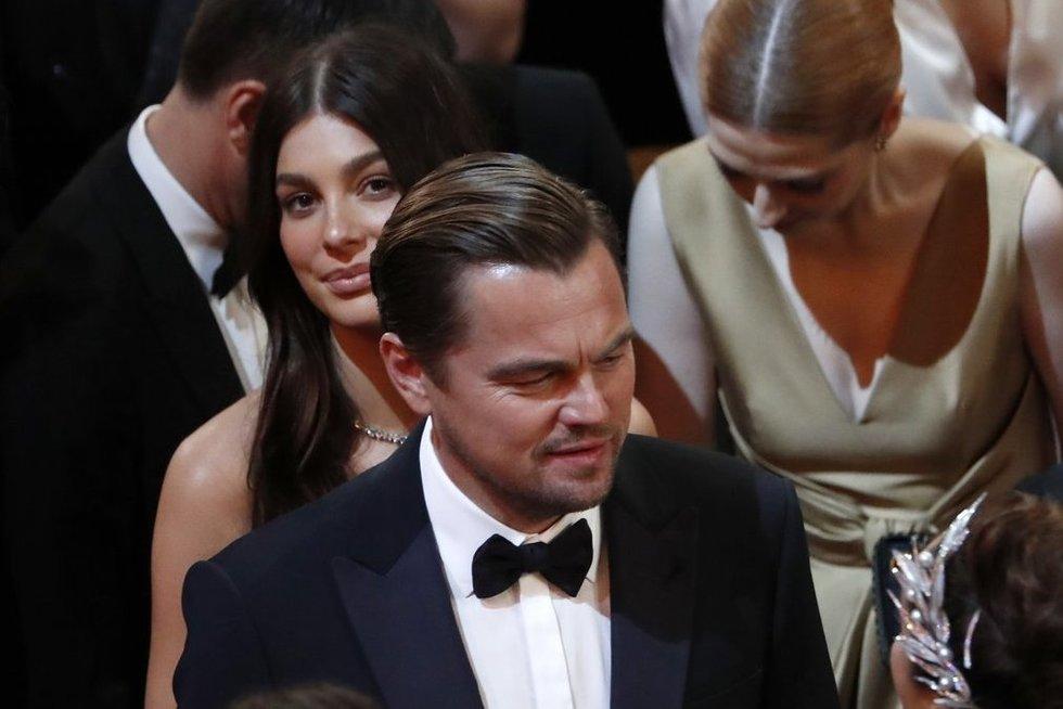 Leonardo DiCaprio ir Camila Morrone (nuotr. SCANPIX)