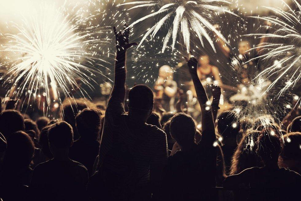 Naujieji metai (nuotr. 123rf.com)