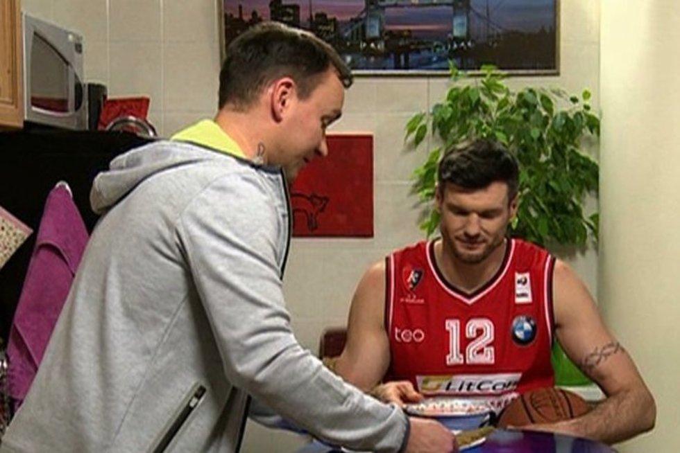 Kšyštofas Lavrinovičius (nuotr. TV3)