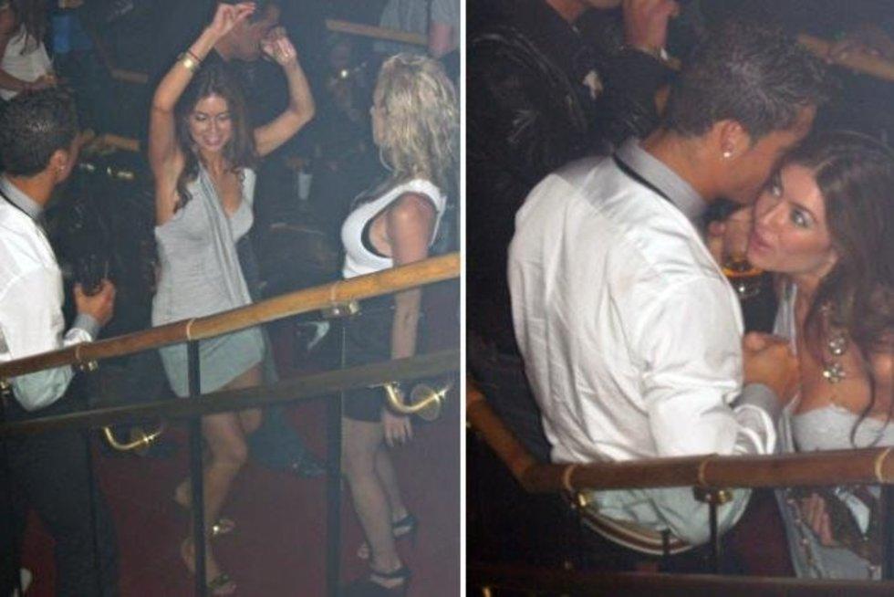Cristiano Ronaldo ir Kathryn Mayorga užfiksuoti viešbutyje (tv3.lt fotomontažas)