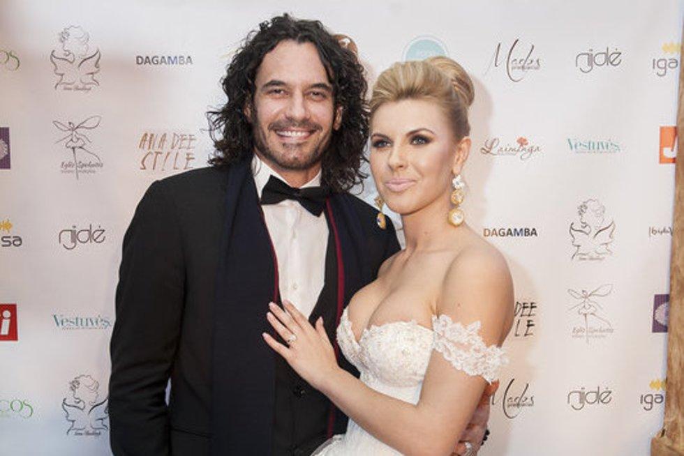 Mario Cimarro ir Deimantė Andriuškaitė (nuotr. Naurimo Zavecko)