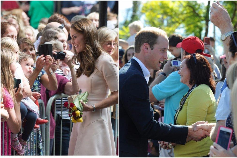 Kate Middleton ir princas Williamas (TV3 koliažas) (nuotr. SCANPIX)