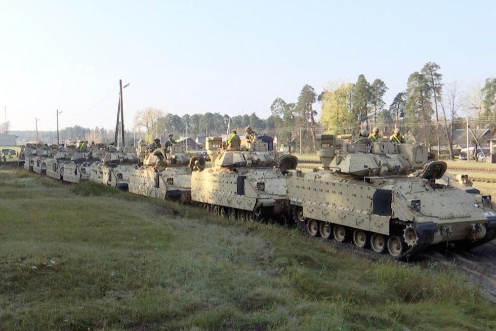 Tankai (nuotr. stop kadras)