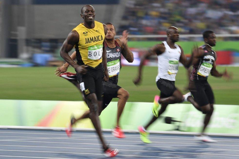 Usainas Boltas (nuotr. SCANPIX)