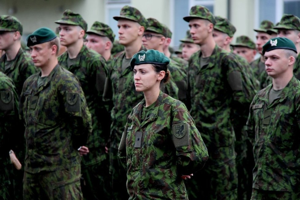 asociatyvi nuotrauka, Lietuvos kariuomenės šauktiniai ir savanoriai