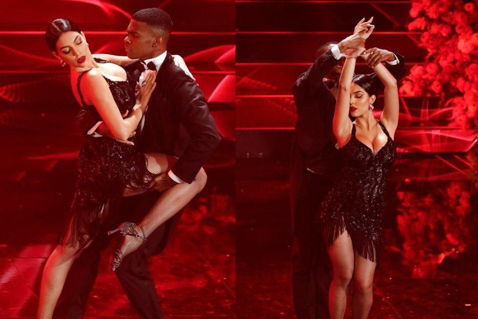 Georginos Rodriguez šokis (tv3.lt fotomontažas)