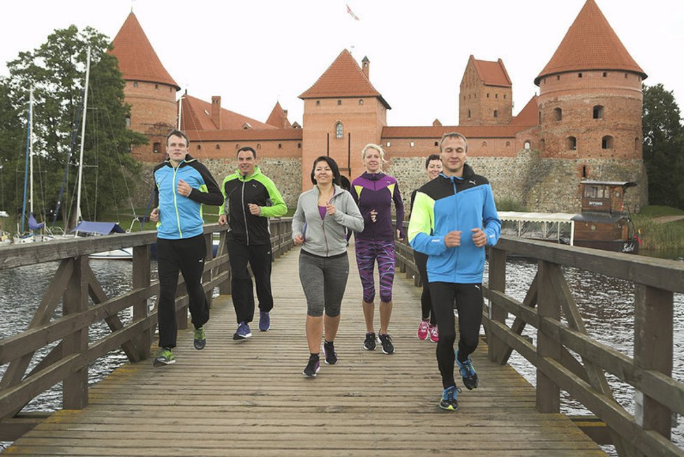 Bėgimas Trakuose (nuotr. Organizatorių)
