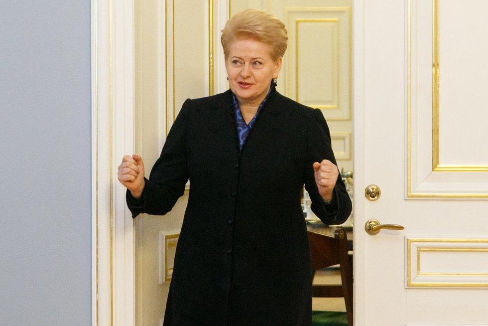Prezidentė (nuotr. Tv3.lt/Ruslano Kondratjevo)