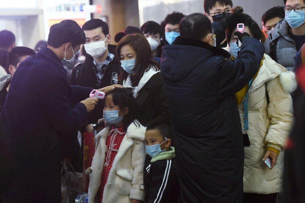 Kinijoje siaučia klastingas virusas (nuotr. SCANPIX)