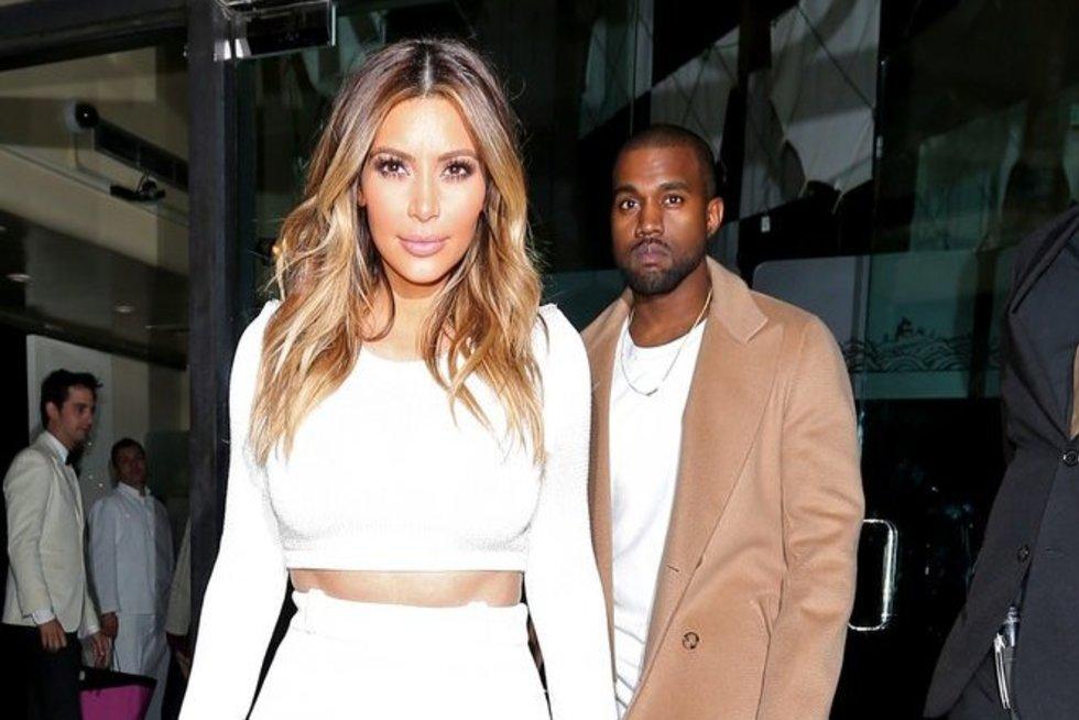 Kim Kardashian (nuotr. Alloverpress.ee)