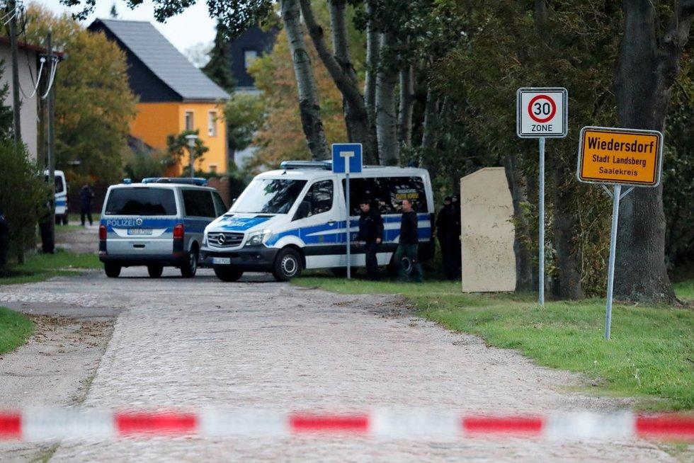 Šaudynės Vokietijoje (nuotr. SCANPIX)
