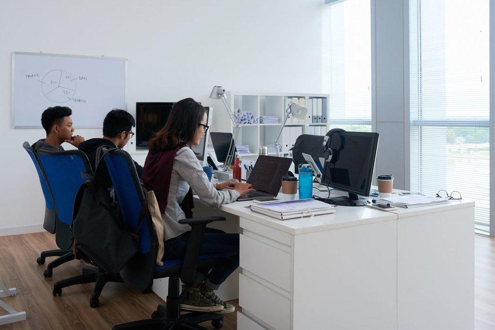 Programuotojai (nuotr. 123rf.com)